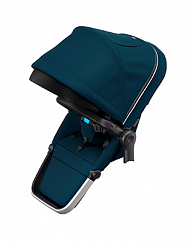 Второй прогулочный блок Thule Sleek Sibling Seat, Navy Blue