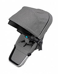Второй прогулочный блок Thule Sleek Sibling Seat, Grey Melange
